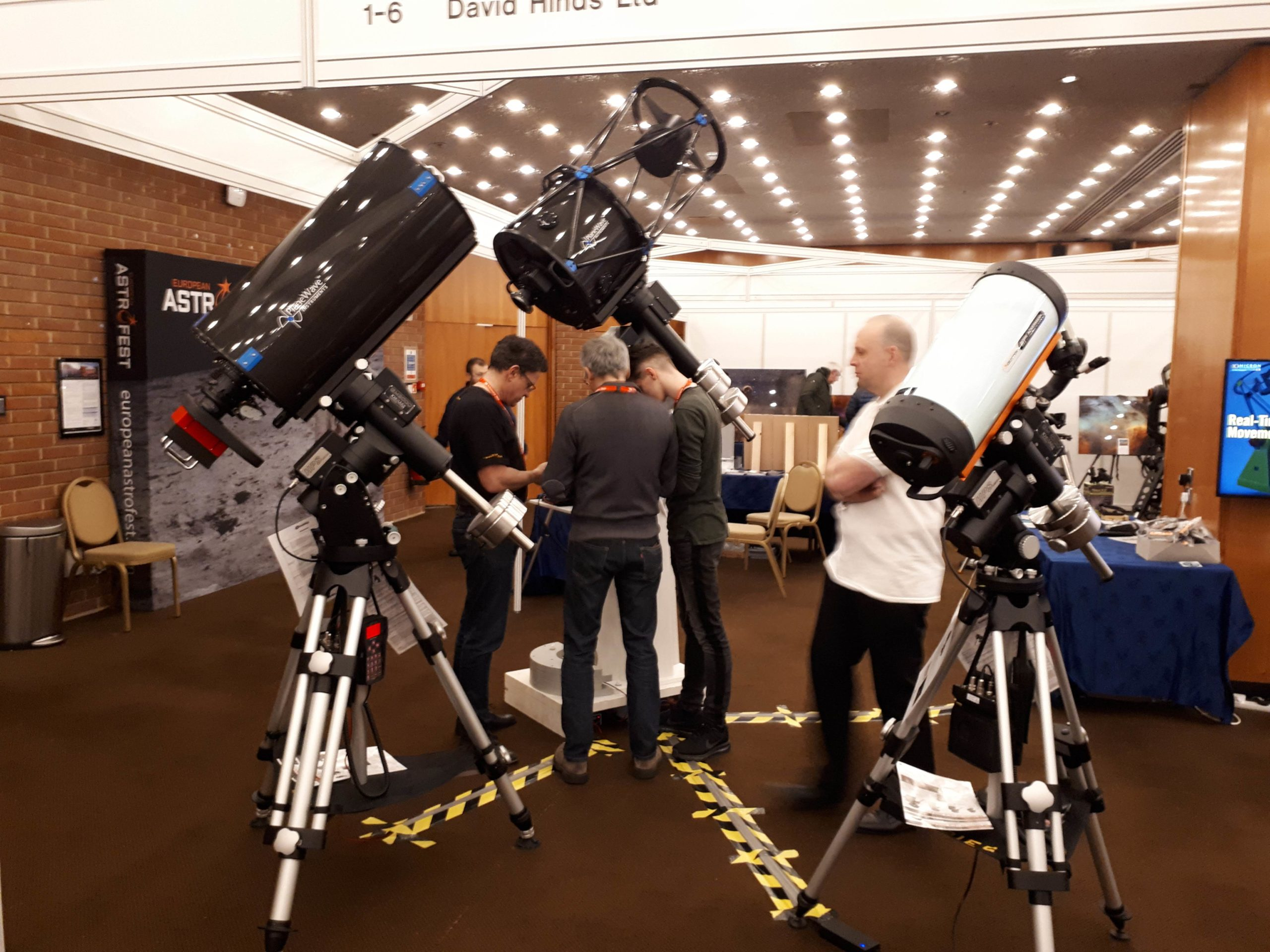 AstroFest 2019 booth